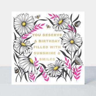 LUMO10 daisies neon birthday card 768x768
