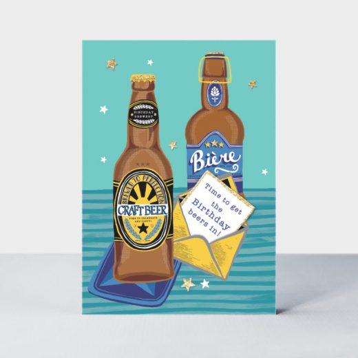 PIC39 beer bottles male birthday card handmade 768x768