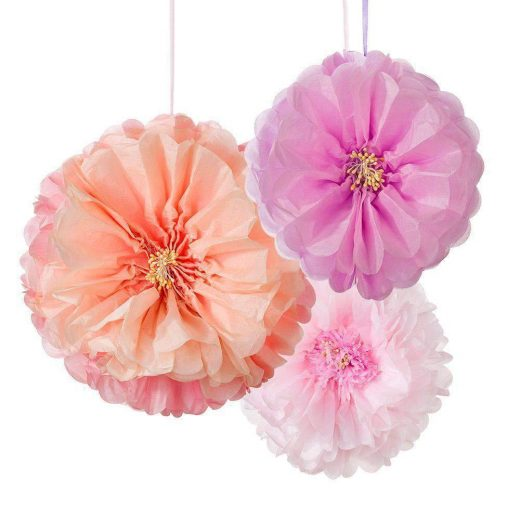 talking tables blush flower pom poms pk3 dd pomflower blush 1024x1024