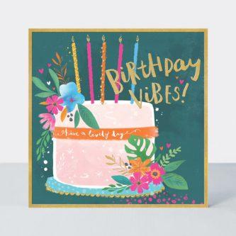TROP03 birthday vibes cake card 768x768