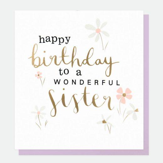 birthday sister greetings card caroline gardner gol024 1800x1800