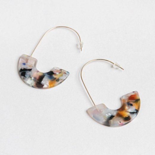 earrings gift for her fashion accessories caroline gardner earrings acrylic multi half hoop da6051 1 1200x1200