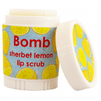 sherbet lemon lip scrub