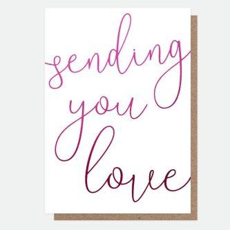 shout out sending love card caroline gardner SHO002 1800x1800