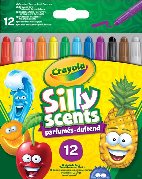 52 9712 E 201 EAME Silly Scents Mini Twistable Crayons 12ct F R