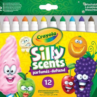 58 8337 E 200 EAME Silly Scents Broadline Markers 12ct F R