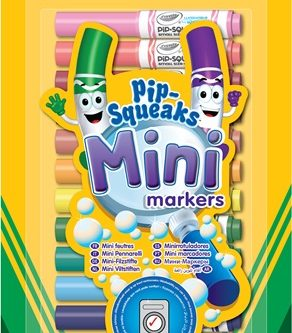 58 8343 E 300 EAME 14ct Pipsqueaks Mini Markers BL F R