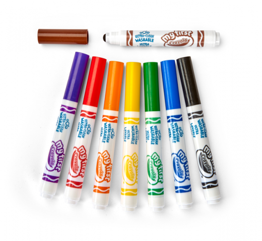 81 1324 0 204 My First Washable Markers 8ct C4