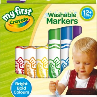 81 8109 U 202 My First Washable Markers 8ct F R