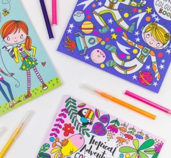 STATIONERY colouring books and sketchbooks childrens colouring books 400x308