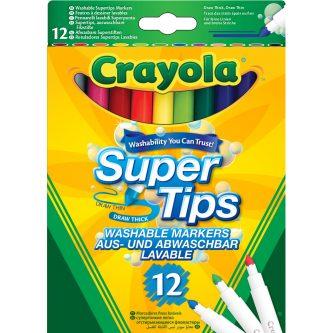 crayola super tips washable markers 12 03 7509