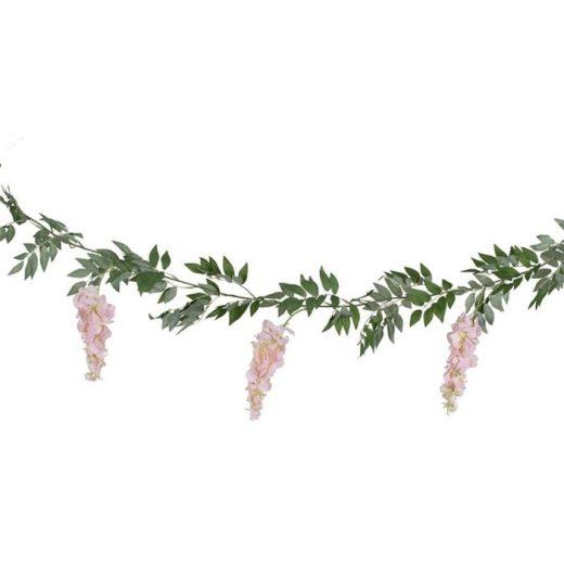 tea 624 wisteria flower garland cut out min
