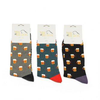 men s socks beer mh185