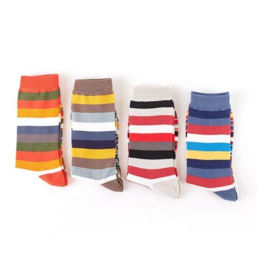 men s socks thick thinstripes mh141