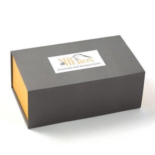 mr heron socks box 1