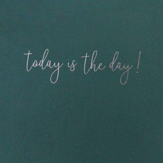 Dark Green Slogan Hardback Notebook SCD100 3 1800x1800