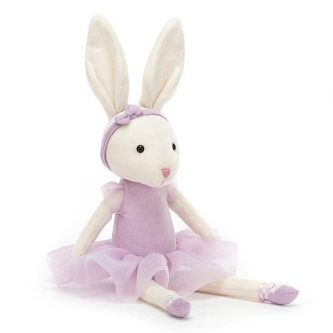 jellycat pirouette bunny lilac L