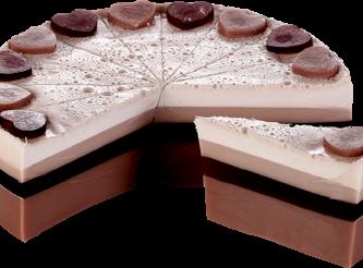 BOMB COSMETICS Chocolate Heaven Soap Cake Slice