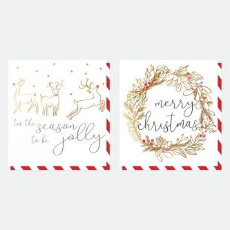 mixed charity christmas cards pack of 8 caroline gardner MDX002 1800x1800