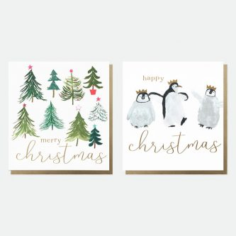 mixed charity christmas cards pack of 8 caroline gardner MDX005 1800x1800