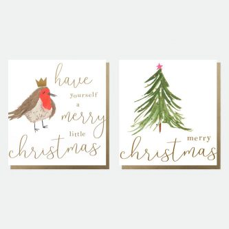 mixed charity christmas cards pack of 8 caroline gardner MDX006 1800x1800