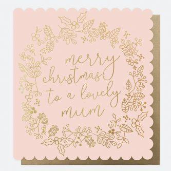 scalloped luxury christmas card for mum caroline gardner SCX001 1 1800x1800