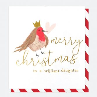 single painted christmas card for daughter caroline gardner QUX032 1 1800x1800