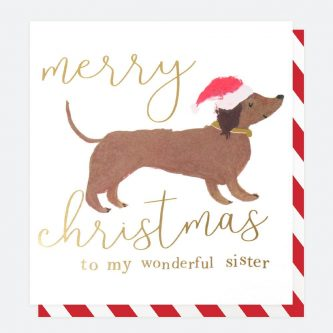 single painted christmas card for sister caroline gardner QUX030 1 1800x1800