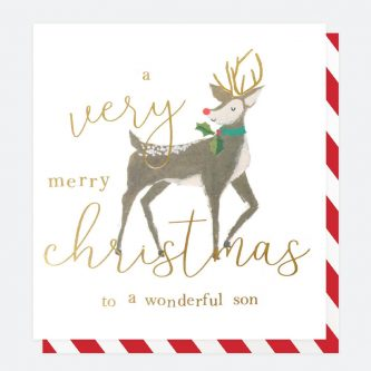 single painted christmas card for son caroline gardner QUX031 1 1800x1800